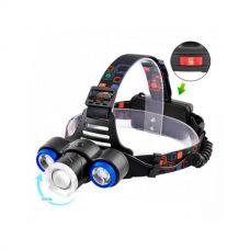 Налобный фонарь Police XQ117 T6+2XPE