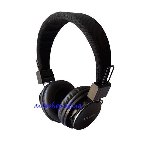 Наушники ATLANFA 7611 Bluetooth,FM,MP-3
