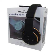 Наушники беспроводные AZ-007 Bluetooth MP3
