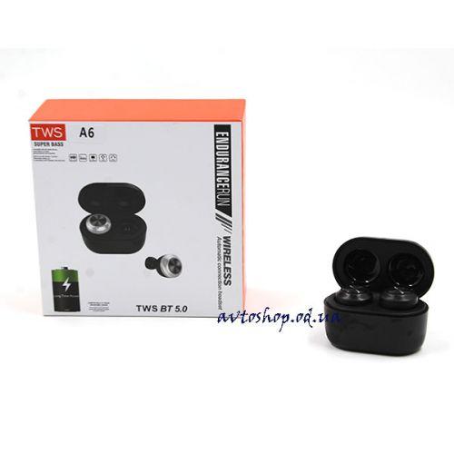 Наушники вакуумные TWS A6 Bluetooth