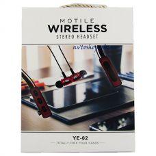 Наушники беспроводные YE-02 Bluetooth