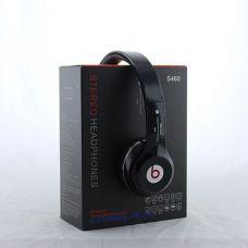 Наушники со встроенным FM и MP3 плеером Monster by Dr. Dre S460+Bluetooth