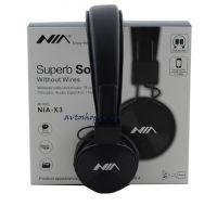 Наушники беспроводные NIA X3 Bluetooth