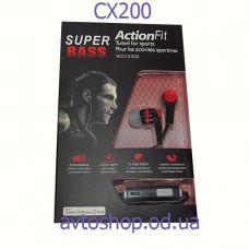 Наушники Action Fit CX200 с микрофоном