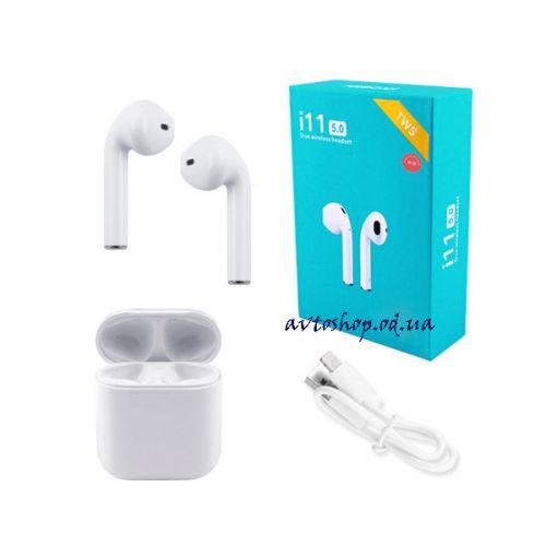Беспроводные Bluetooth наушники i11 5.0 с кейсом