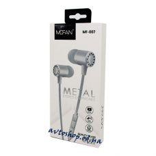 Наушники Mofan MF-007 metal