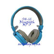 Наушники со встроенным FM и MP3 плеером SH-12+Bluetooth