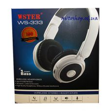 Наушники Wster WS-333 Bluetooth