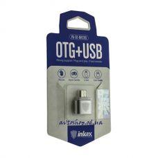 Адаптер OTG Inkax PA-01 USB / micro-USB