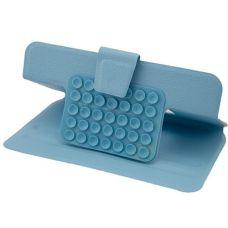 Чехол-книжка на присосках для планшета 7 дюймов голубой