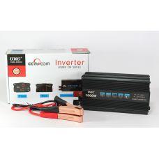Инвертор 12-220V UKC AC/DC 1000W SSK