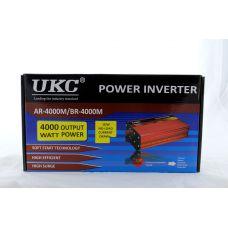 Преобразователь / инвертор UKC AC/DC AR 4000W (c функции плавного пуска преобразователя)