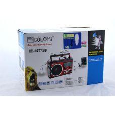 Радио RX 722 LCD+ часы