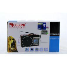 Радиоприемник Golon RX-081 портативная колонка USB /SD / MP3/ FM /Фонарик /