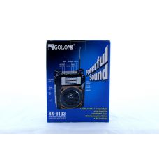 Радиоприемник Golon RX 9133 портативная колонка USB /SD / MP3/ FM / LED фонарик