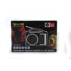 Радиоприемник Golon RX BT16 портативная колонка bluetooth / USB /SD / MP3/ FM