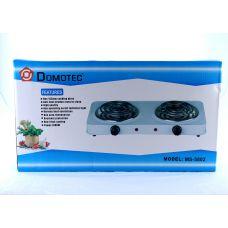 Электроплита Domotec MS 5802 на 2 конфортки