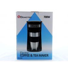 Капельная кофеварка Domotec с термо стаканом MS 0709 220V