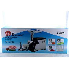 Мясорубка электрическая с соковыжималкой Domotec MS 2020 2600W