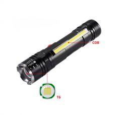 Ручной фонарь T6-26 T6+COB