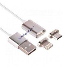 Магнитный кабель для зарядки телефонов Android/Iphone