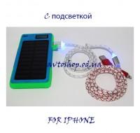 Кабель для зарядки Iphone V-6 светящийся