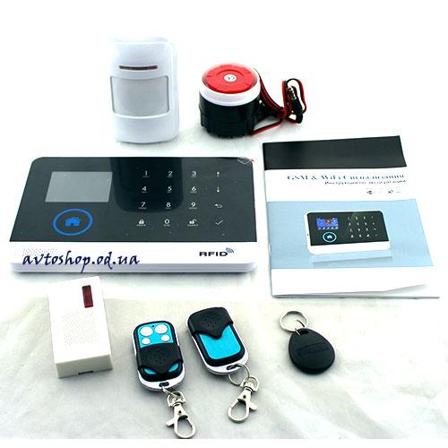 Сигнализация для дома GSM+Wi-Fi JYX G600