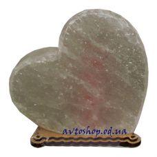 Солевой светильник сердце