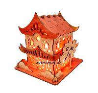 Соляной светильник Дом Китайский