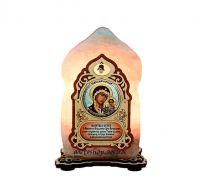 Соляной светильник Икона