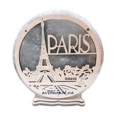 Соляной светильник круг большой Paris