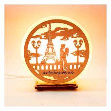 Соляной светильник парочка в Париже
