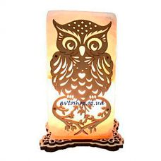 Соляной светильник сова большая