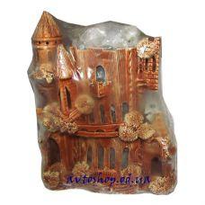 Солевой светильник замок 1232