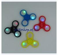 Игрушка анти стресс Fidget Spinner (Спиннер) с подсветкой