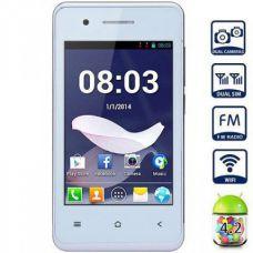 Телефон FaceTel T1 RDA8810 1Ghz белый