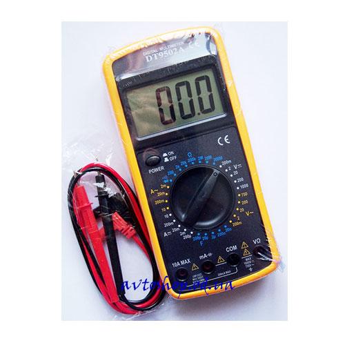 Цифровой мультиметр тестер DT9502