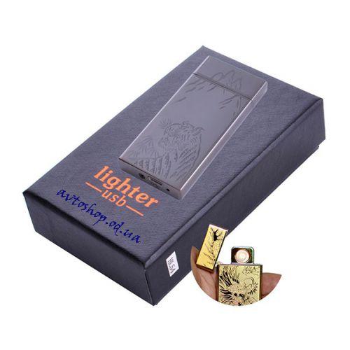 USB зажигалка Тигр HL-540 Black