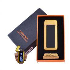 Зажигалка в подарочной коробке Лев №HL-58 Gold