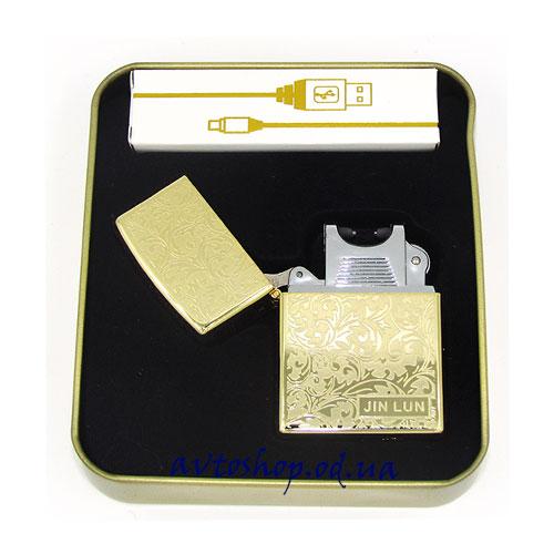 USB зажигалка Jin Lun XT-4706