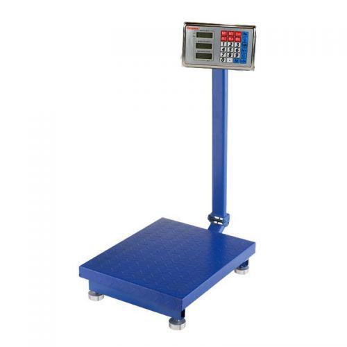 Весы ACS 150kg 40*50 Fold Domotec 6V с железной головой
