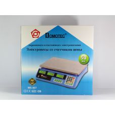 Весы ACS 50kg/5g MS 987 Domotec 6V