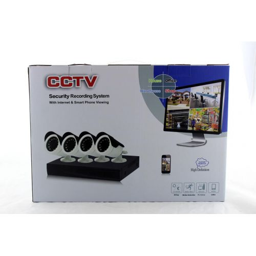 Комплект Регистратор для видеонаблюдения и 4 Камеры DVR CAD D001 KIT 2mp