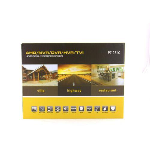 Стационарный 4 - х канальный видеорегистратор DVR CAD 1204 AHD 4ch