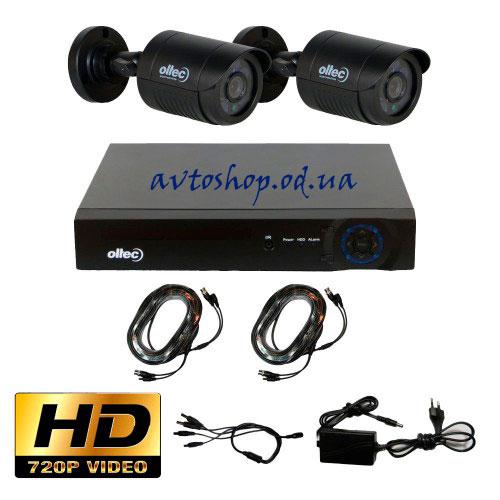 Комплект HD видеонаблюдения AHD-DUO-HD