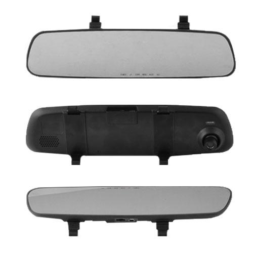 Автомобильный видеорегистратор-зеркало DV-400, 2.4'', HD