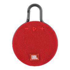 Bluetooth-колонка JBL CLIP3, c функцией speakerphone, радио, red