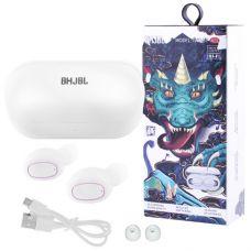 Bluetooth-наушники BHJBL TWS-BT A11 с кейсом, white
