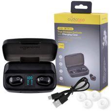 Bluetooth-наушники OudioBop OD-BT011 с кейсом, индикация заряда, black