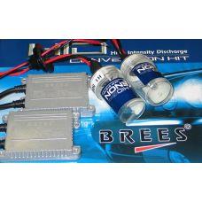 Комплект ксенонового света Brees Slim Н1 6000K